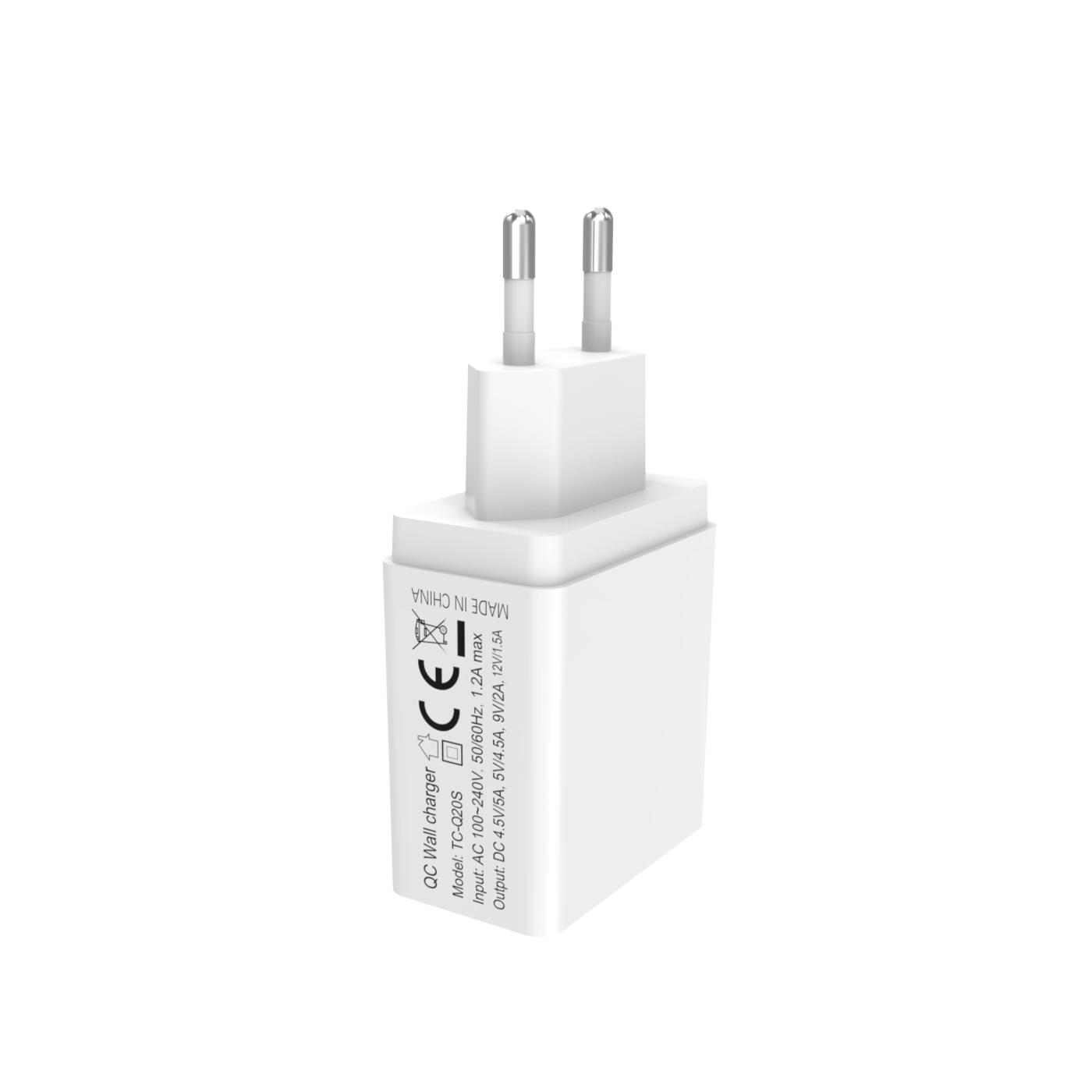 TC-Q20S 22.5W QC/FCP Wall charger